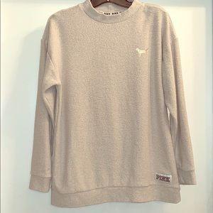 Victoria's Secret Pink towel sweater